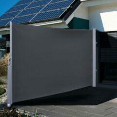 Antraciet-grijze Haushalt 60250 - Uitschuifbaar Windscherm - Antraciet - 160x300 cm