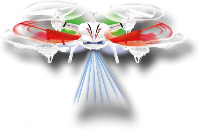 Afbeelding van Gear to Play Radiografisch R/C Drone Focus Gear2Play Eagle Drone met Camera