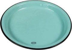 CABANAZ - bord, keramiek, MEDIUM PLATE, blauw