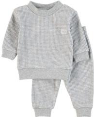 Feetje Wafel Pyjama Grijs Melee Mt. 62