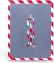 BVG Sjabloon | Niet hijsen | Aluminium | 100mm