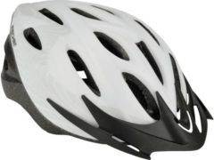 Fischer Fahrrad White Vision L/XL City fietshelm Wit, Zwart Confectiemaat: L