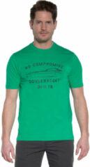 Groene Donkervoort Heren T-shirt KM