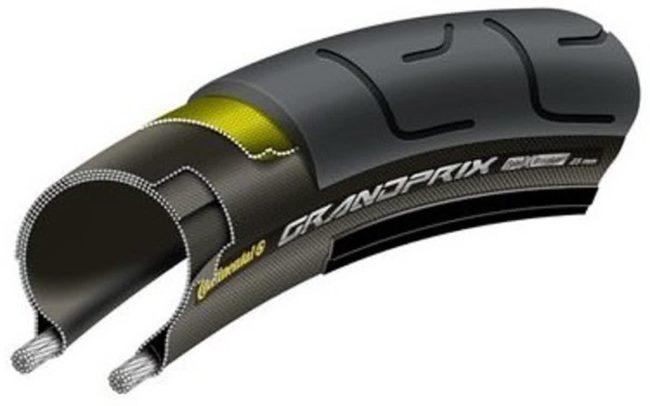 Afbeelding van Zwarte Continental buitenband 28 700x25c 25-622 vouw grand prix gt protection zwart