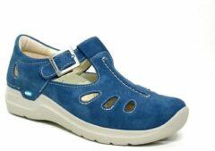 Nette Schoenen Wolky 06605 Smiley - 40820 denim blauw suede