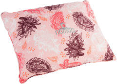Roze Nomad Travel Pillow Reiskussen - 30x40 cm - Print Rose