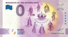 Paarse 0 Euro Biljet 2020 - Vorsten van Nederland - Koninkrijk van Oranje-Nassau