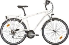 28 Zoll Herren Trekking Fahrrad 21 Gang Shockblaze CityLine Classic weiß, 52cm