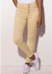 Naturelkleurige LASCANA highwaist-jeans