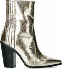 Sacha - Dames - Goudkleurige western boots - Maat 37