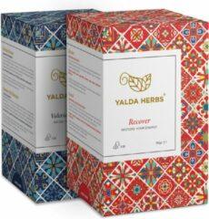 2 Doosjes-Combinatie van Recover en Valerian Dream-Yalda Herbs kruidenthee-36 piramide Theezakjes
