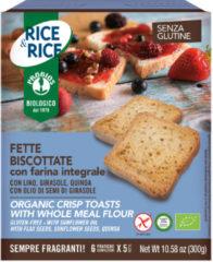 PROBIOS Srl Rice&Rice Fette Biscottate Con Farina Integrale Senza Glutine 300g (6x50g)