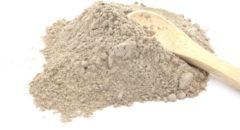 Beige SustOILable Natuurlijk pure Ghassoul of Rhassoul klei poeder (reinigend gezichtsmasker en haarmasker voor normale huid en haar) – los en plasticvrij verpakt 100 gram - vegan