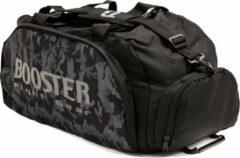 Booster Rugtas Sporttas B-Force Duffle Bag Sportsbag Small Zwart Camo