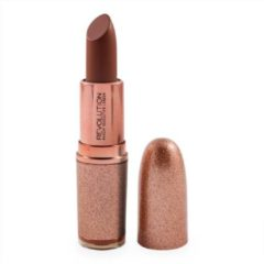 Huidskleurige Makeup Revolution Life On The Dance Floor Guest List Lipstick - Potential