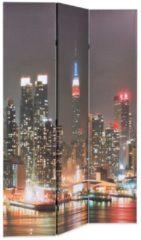 5 days Kamerverdeler inklapbaar New York bij nacht 120x180 cm
