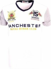 Geographical Norway Shirt V-hals Wit Manchester Jingston