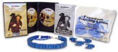 Blauwe Perfect Dog Halsband Voor grote honden Created By Don Sullivan (Master Dog Trainer) - Kunststof