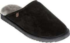 Warmbat Classic Slipper Black Heren Slippers - Maat 44 - Unisex - zwart/grijs