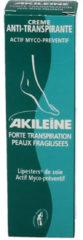 Akileine Anti transpirant creme 50 Milliliter