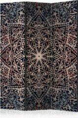 Bordeauxrode Kamerscherm - Scheidingswand - Vouwscherm - Spiritual Finely [Room Dividers] 135x172 - Artgeist Vouwscherm