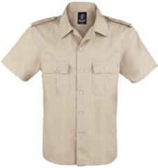 Brandit 1/2 Maniche Camicia US Camicia beige