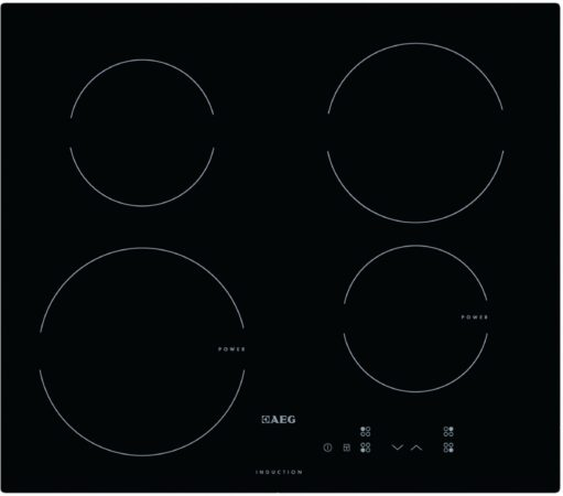 """Afbeelding van AEG HKI62401CB inbouw inductiekookplaat ACTIE met GRATIS luxe Sabatier """"3-DELIG MESSENSET"""""""