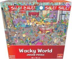 Goliath Puzzel - Puzzel 1000 stukjes - Puzzel voor volwassenen - Wacky World Sale