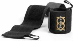 Gouden Marrald Gold Wrist Wraps - polssteun brace band crossfit fitness krachttraining polsbrace polsband polsbeschermer pols bescherming