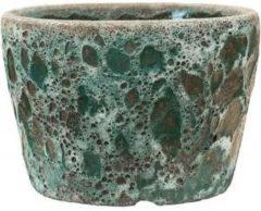 Baq Design Lava Relic Jade bloempot binnen 25x25x17 cm