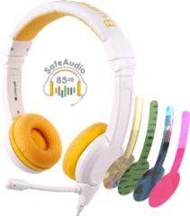BuddyPhones School+ koptelefoon geel - 85db - geluidsbescherming
