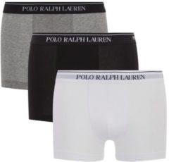 3pack boxershorts polo ralph lauren grijs/wit/zwart maat xxl