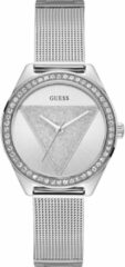 Guess Horloges Watch Tri Glitz W1142L1 Zilverkleurig