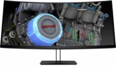 HP Z38c LED-monitor 95.3 cm (37.5 inch) Energielabel B (A++ - E) 3840 x 1600 pix UWQHD 14 ms HDMI, DisplayPort, USB-C IPS LED