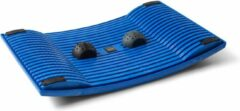 Donkerblauwe Gymba Activity Board - bewegend staan