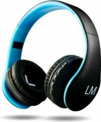 Blauwe Louise&Mann L11 draadloze Over-Ear Koptelefoon Inklapbaar - Bluetooth - Met microfoon