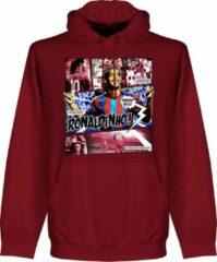 Retake Ronaldinho Barca Comic Hoodie - Rood - L