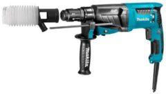 Blauwe Makita HR2631FTJ combihamer