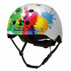 Witte Melon helm Coloursplash XXS-S (46-52cm)