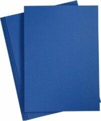 Colortime Karton Donkerblauw A4 180 Gram 20 Vellen