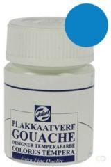 Talens plakkaatvef Extra Fijn flacon van 16 ml, ceruleumblauw (phtalo)