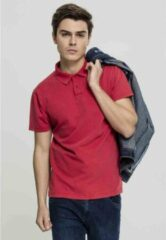 Urban Classics Polo shirt -M- Garment Dye Rood