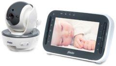 Antraciet-grijze Alecto DVM-200 babyfoon met camera en 4.3' kleurenscherm