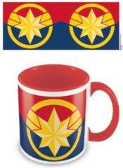 DC COMICS - Coloured Inner Mug - Captain Marvel