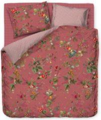 Roze Pip Studio dekbedovertrek Fall in Leaf pink - lits jumeaux XL (260x200/220 cm incl. 2 slopen)
