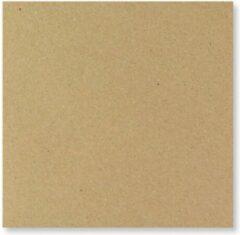 Bruine FreshPaper Kraft enveloppen 13x13 cm 100 stuks