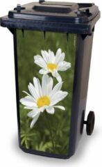 Paarse CoverArt Kliko container sticker Margrieten, voor het beplakken an een zijde van de kliko. Afmeting: lengte 80 cm x breedte boven 37/onder 34 cm. Materiaal vinyl, weer en UV bestendig.