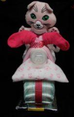Roze Sabinesgeschenkenshop.be Pamper Brommer meisje