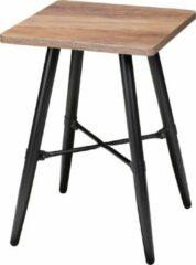 Gerimport Gebor - Industriële Sidetable Stan - Handig Formaat - Meer Dan Functionaliteit - 40x40x50cm