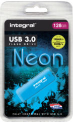 Integral INFD128GBNEONYL3.0 USB flash drive 128 GB USB Type-A 3.2 Gen 1 (3.1 Gen 1) Geel